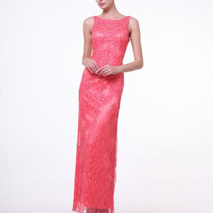 Sleeveless Long Evening Bridesmaid Dress CD1925